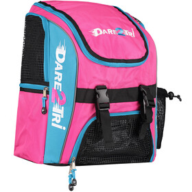 Dare2Tri Transition Mochila 23L, pink/blue